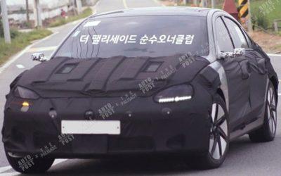 2022 Hyundai IONIQ 6 Spied Again