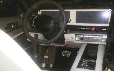 Hyundai IONIQ 6 Interior Leaked