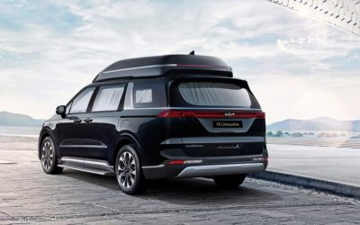 Kia Launched 4-seater Luxury Carnival Limousine