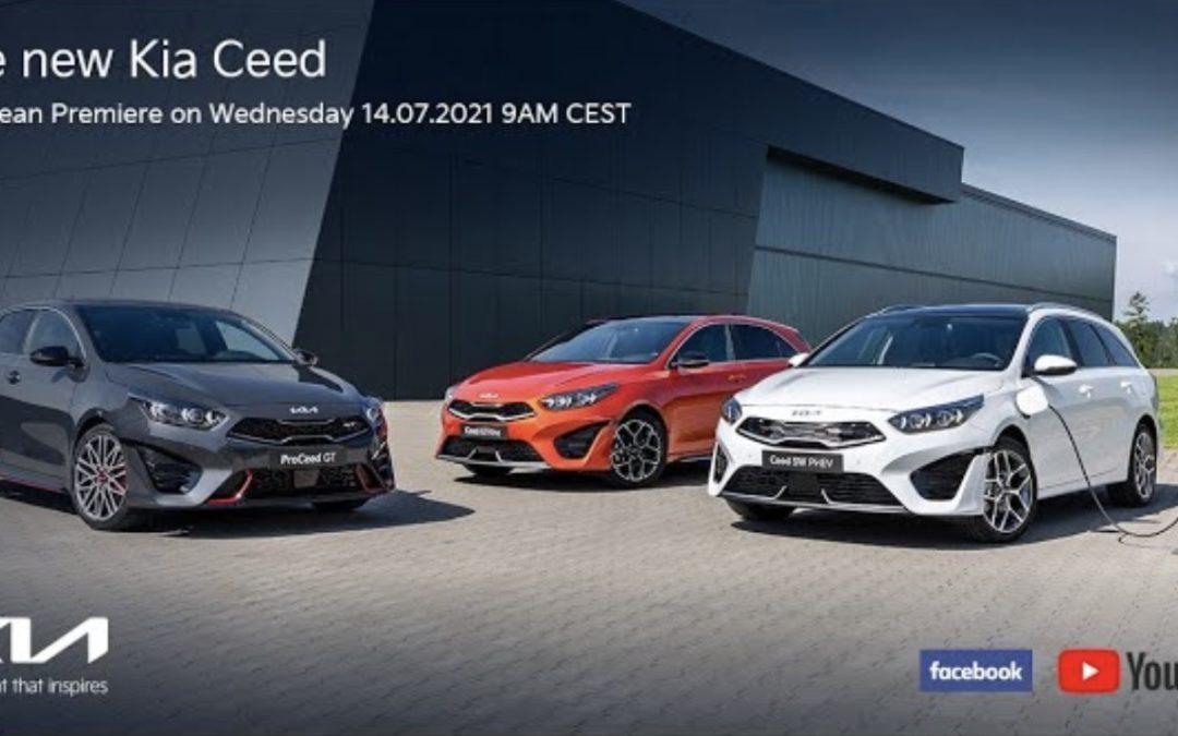 Watch Kia CEED Facelift Live Premiere