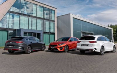 Kia CEED Range Facelift Revealed