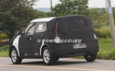 Kia Soul Facelift Spied for the First Time