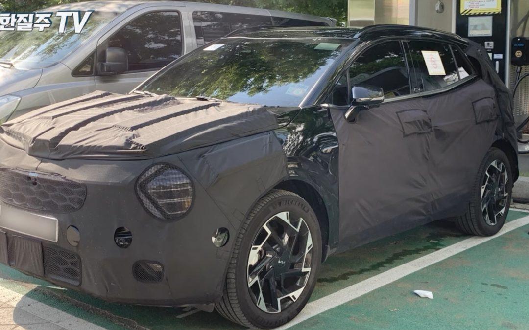 Kia Sportage PHEV Short Wheelbase Spied