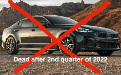 Kia Stinger Axed After 2nd Quarter 2022