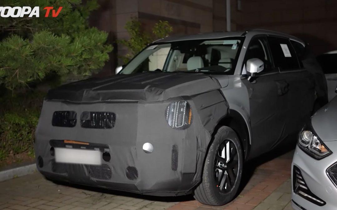 2023 Kia Telluride Facelift Spied