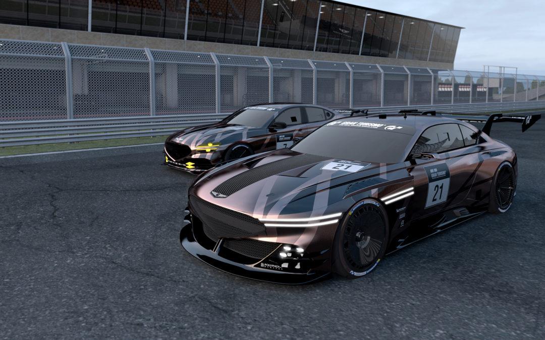 Genesis Previews G70 & X Concept for Gran Turismo