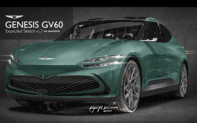 Genesis GV60 Front Rendering