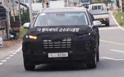 2022 Hyundai Palisade Facelift Spied