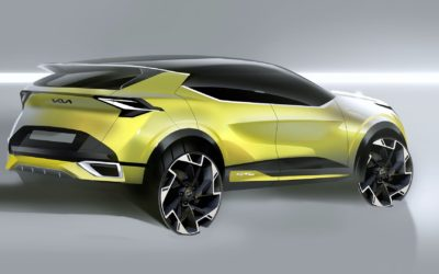 Kia Reveals First Skectch of Euro Spec Sportage