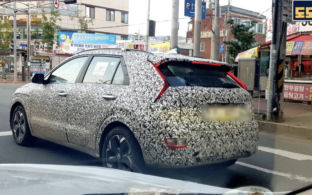 Kia Niro Spied, Losing Camouflage