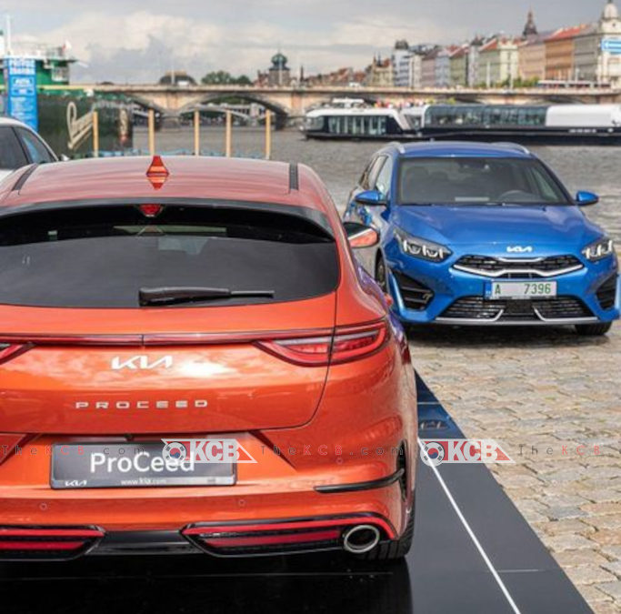 Kia PROCEED Facelift Captured in the Wild
