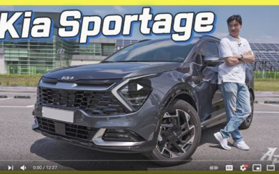 Full English Review of All-New Kia Sportage