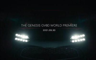 Genesis GV60 World Premiere Set for September 29th