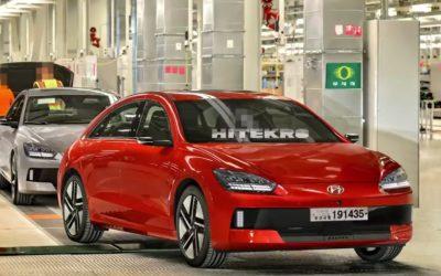 Hyundai IONIQ 6 Rendering