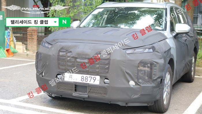 hyundai palisade facelift spied detail (1)