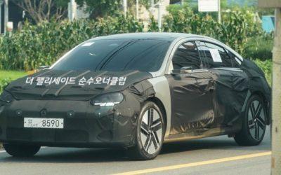 Hyundai IONIQ 6 Spied Again