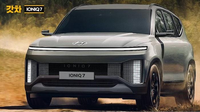 Another Hyundai IONIQ 7 SUV Rendering