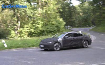 Hyundai IONIQ 6 Spied in Video