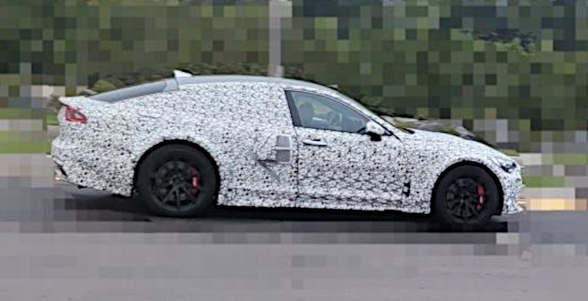 Stinger Midship Hydrogen High-Performance Mule Spotted