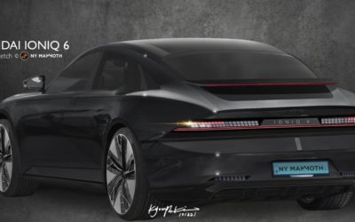 What if IONIQ 6 Rear Looks Like This?