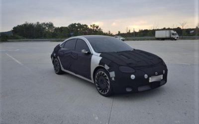 Latest Spy Shots of Hyundai IONIQ 6