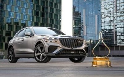 Genesis GV70 Named SUV of the Year by MotorTrend