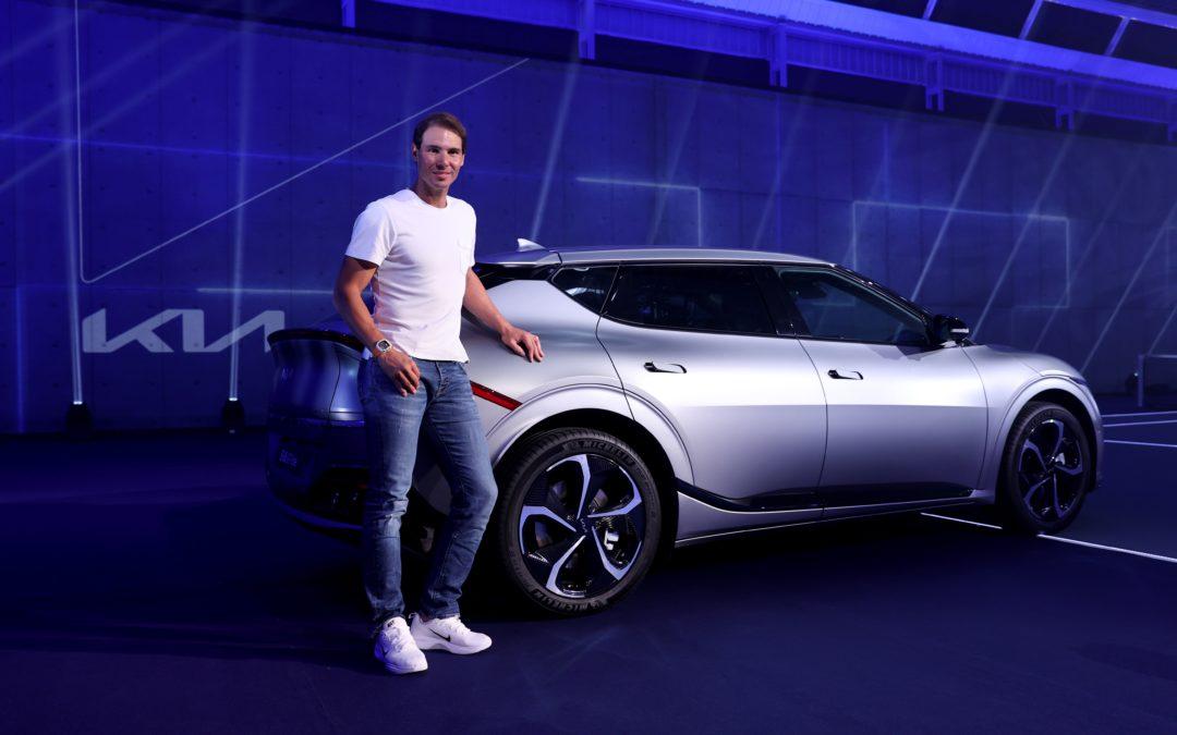 Rafael Nadal Received Its Personalized Kia EV6 GT-Line